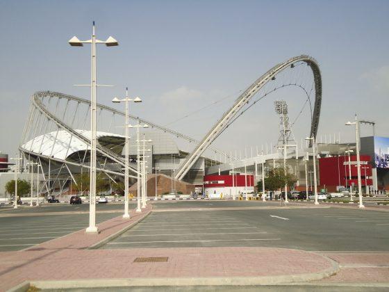 Khalifa stadium Qatar