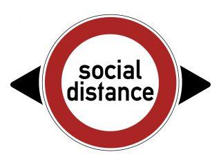 Corona afstand social distance